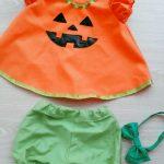 去年作ったハロウィン衣装を使い回しました(笑)