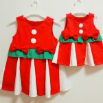 子供のクリスマス衣装を作りました☆