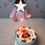 次女の誕生日にキャラクターケーキを注文!&そのレビュー
