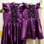今年も姉妹のハロウィン衣装を作りました!